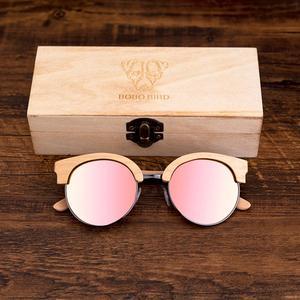 Image 5 - BOBO UCCELLO Occhiali Da Sole Degli Uomini Delle Donne Occhiali Da Sole di Legno di Stile di Estate spiaggia Occhiali in regali scatola di Legno Personalizza