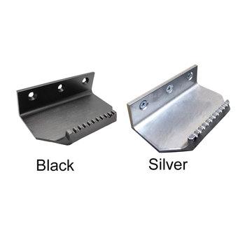 Bezprzewodowy bezdotykowy mechanizm otwierania drzwi nożnych anty zarodek gruby metalowy uchwyt dom bezdotykowy mechanizm otwierania drzwi stóp narzędzia do otwierania akcesoria tanie i dobre opinie CN (pochodzenie) 80mmx121mmx31mm black silver