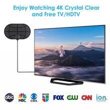 O envio gratuito de 300 milhas alcance antena tv digital hd skywire 4k antena digital interior hdtv 1080p transceptor tv via satélite