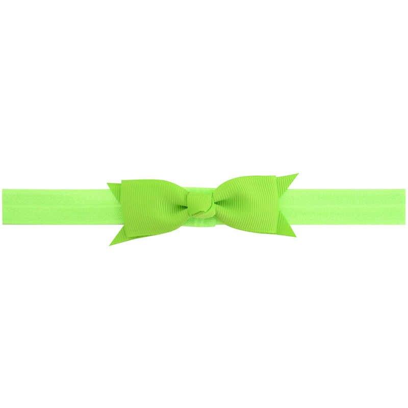 1 sztuk Cute Bow Baby pałąk dla dziewczyny cukierkowe kolory opaski do włosów Turban noworodka opaski Hairbands dla dzieci akcesoria do włosów dla dzieci