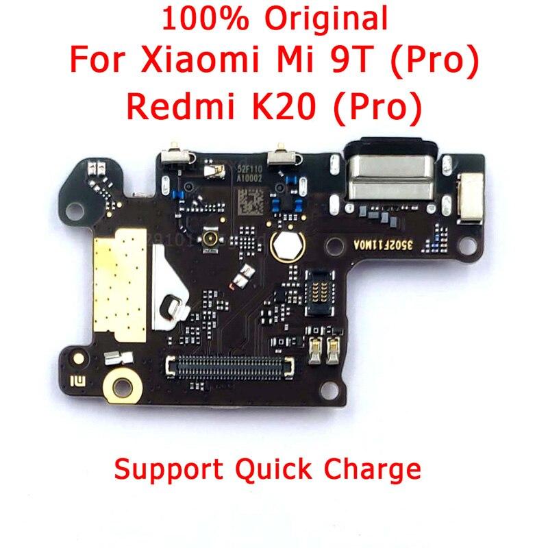 Original Spare Parts For Xiaomi Mi 9T Charging Port For Redmi K20 Pro Charge Board USB Plug PCB Dork Connector Flex Cable