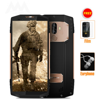 Blackview BV9000 PRO IP68 Waterproof shockproof mobile phone Android 7.1 5.7 6GB RAM 128GB MT6757CD Octa core 4180mAh NFC 4G blackview bv8000 pro ip68 waterproof cellphone mtk6757v octa core android 7 0 mobile phone 5 0 fhd 6gb ram 64gb rom 4000mah nfc