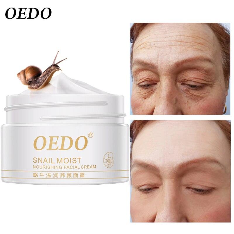 Snail Face Cream Collagen Anti-Wrinkle Whitening Facial Cream Hyaluronic Acid Moisturizing Anti-aging Nourishing Serum Skin Care-2