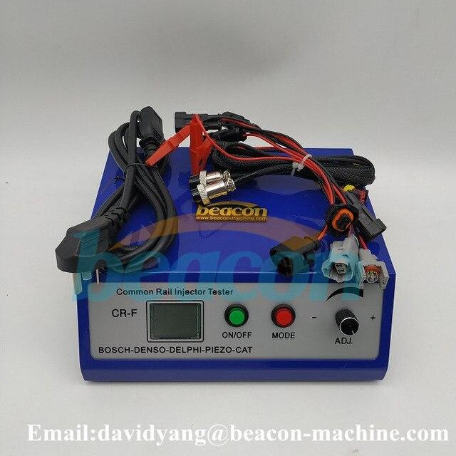 Testeur de buse dinjection diesel manuel à rampe commune dinjecteur piézo-électrique
