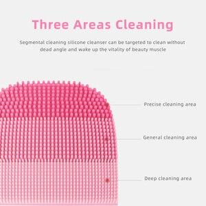 Image 3 - InFace חכם נקי קולי חשמלי עמוק פנים ניקוי עיסוי מברשת לשטוף פנים טיפול מנקה נטענת עמיד למים