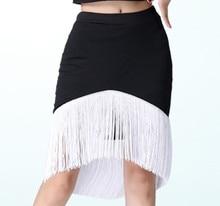 Robe Danse Latine Top and Skirt Latin Dance Tops Women Practice Ballroom Dress