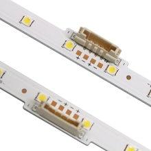 Новинка 10 шт/лот Светодиодная лента для подсветки samsung ue58nu7100
