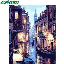 Azqsd Краски по номерам для взрослых декорации Раскраска diy