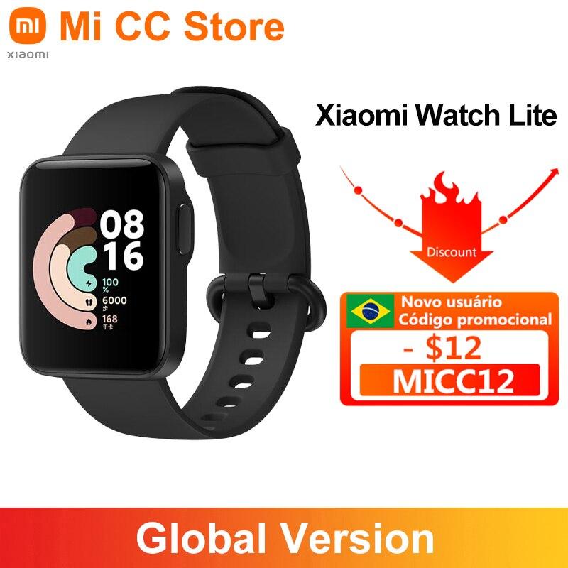 Глобальная версия Xiaomi Mi band часы Lite 1,4 дюймов сенсорный экран GPS фитнес-трекер Bluetooth 5,0 фонарик сигнализации умные часы для занятий спортом