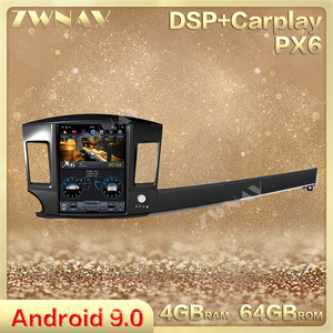 DSP Carplay vertical Tesla screen Android 9.0 Car gps multimedia Player For Mitsubishi Lancer 2007-2017 radio stereo head unit(China)