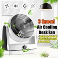 3 Вт 220 В Тихий охлаждающий воздушный циркулятор Настольный вентилятор настенные вентиляторы мощность скорость для дома электрические вент...