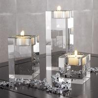 HOT SALE Religious Candle Holders Tealight Candlestick Wedding Decorations Centerpieces Bonus 3Pcs a Set