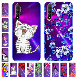For Huawei nova 5T Case 6.26 TPU Silicone Soft Cartoon Clear Case Cover for Huawei Nova5T Case Nova 5T 5 T 2019 Phone Back Cover