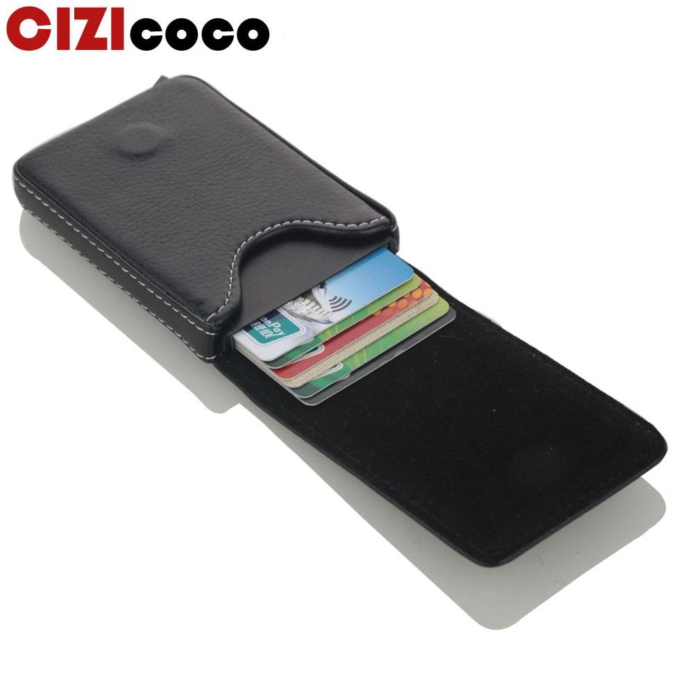 2019 New Style RFID Card Holder Metal Men Women Credit Card Holder Aluminium Blocking Holder For Cards Minimalist Wallet