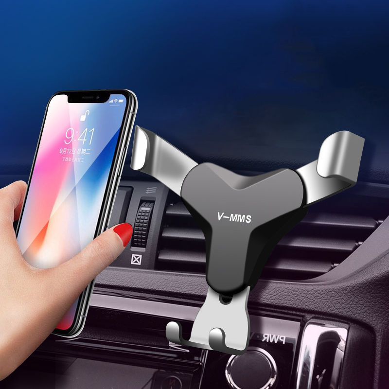 Car Phone Holder Universal Gravity Mobile Phone Holder Stand No Magnetic Auto Support Cell Air Vent Mount For Smartphone Holder