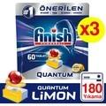 Finish Quantum 180 Tablet Spülmaschine Waschmittel Zitrone (60x3)