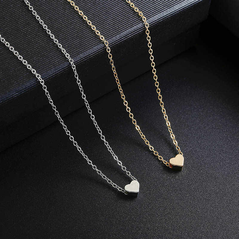2019 böhmen Einfache Mond Sterne Herz Choker Halskette für Frauen Kette Halskette Anhänger auf neck Halsketten Schmuck Geschenke