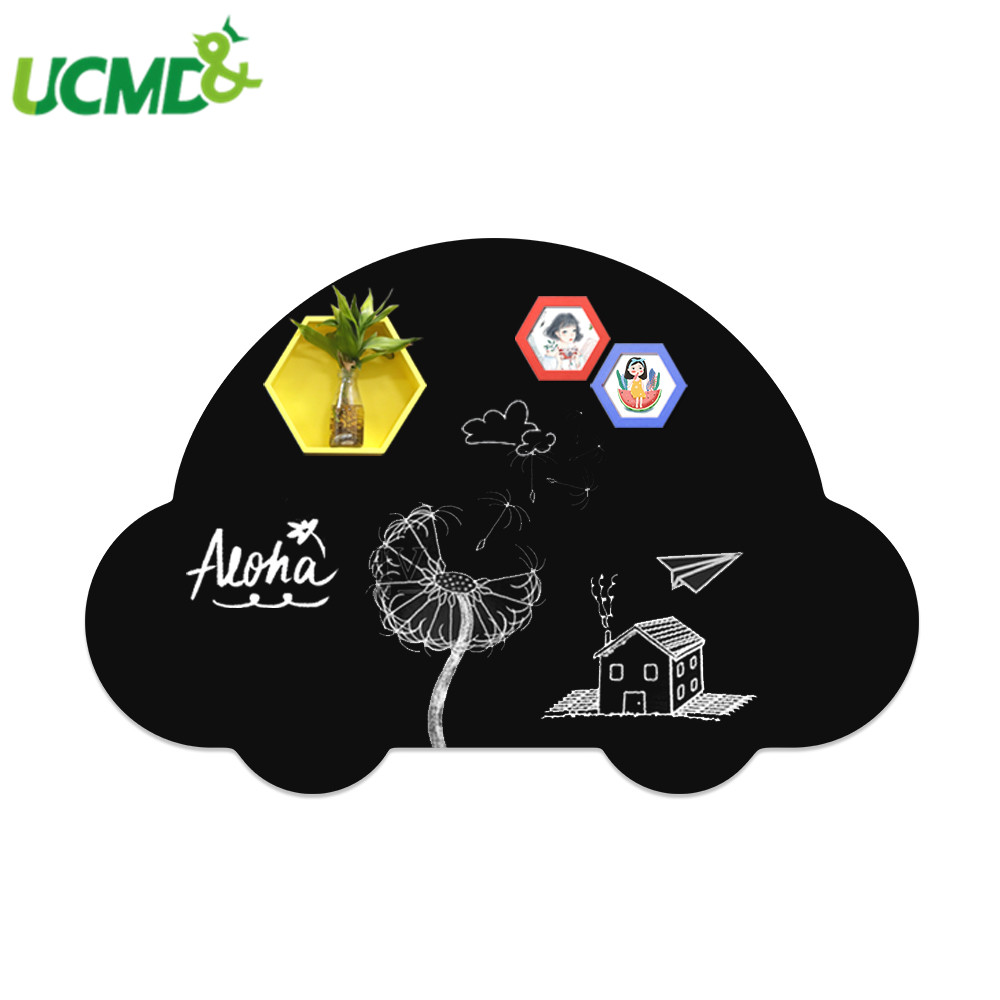 Erasable Wall Sticker Office Message Writing Chalkboard Removable Kids Toy Graffiti Painting Learning Blackboard School Supplies