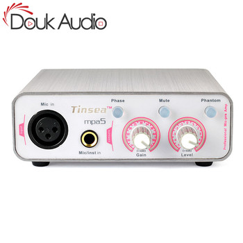 Douk Audio HiFi Microphone Professional Preamplifier Music Mic-pre Amp Balance Recording Preamp