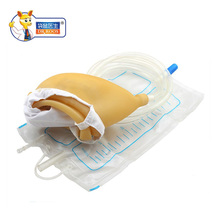 Reusable Male Female Urinal Bag Spill Proof Collector Pee Holder Catheter 1000ml For Urinary Incontinence