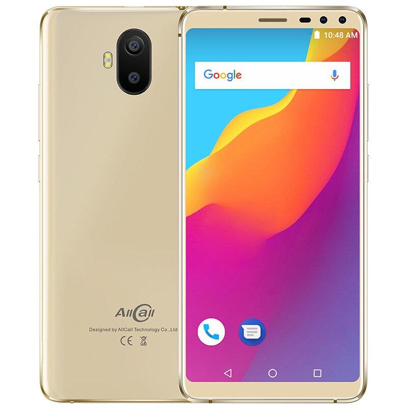 Фото. Смартфон AllCall S1 3g 5,5 дюйм Android 8,1 MT6580 четырехъядерный 2 ГБ + 16 Гб 13MP + 2MP двой