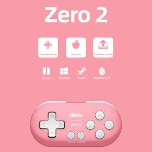 Image 5 - 8BitDo ZERO 2 บลูทูธไร้สาย Controller Candy สีมินิเกมจอยสติ๊กสำหรับ Nintendo SWITCH เกม Lite เครื่อง PS3 PC ไอน้ำ
