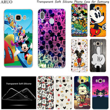 Soft Silicone TPU Phone case For Samsung J8 J7 J6 J5 Prime 2017 J4 Plus J3 2018 J2 Core Cute Cartoon Mickey Minnie Fashion Cover 3d butterfly leather flip wallet case for samsung galaxy j8 j7 j6 j5 j4 j3 j2 j1 2016 2017 2018 plus prime pro core phone cover