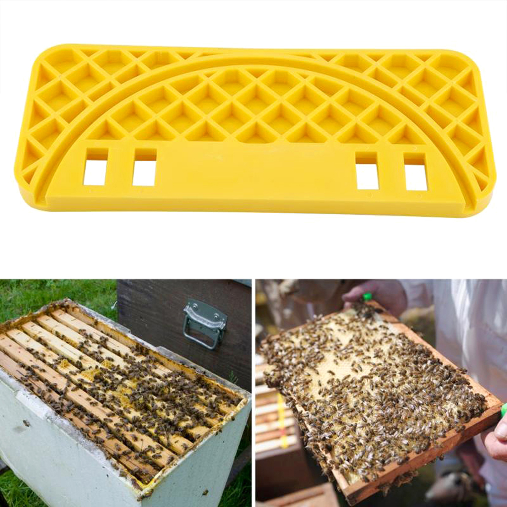 Honey Beehive Scraper Cleaning Tool Bucket Frame Shelf Nest Spleen Apiculture Accessories For Farm Bee Colony Managing