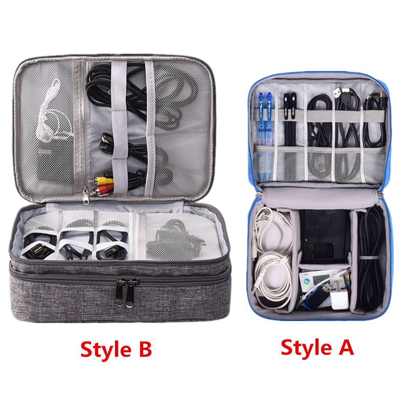 Digital-Bag Package Storage-Pouch Cable Earphone Power-Bank Usb-Charger Travel-Accessory
