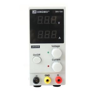 Image 3 - New 30V 10A LED Display Adjustable Switching Regulator DC Power Supply LW K3010D Laptop Repair Rework 110v   220v