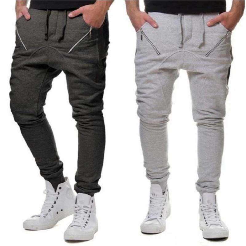 Pantalones De Marca Para Hombre Pantalones Casual Elastico Largo Pantalon De Trabajo Gris Liso A Cuadros De Algodon Para Hombre Talla Grande De Primavera Pantalones Informales Aliexpress