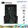 LeeKooLuu 2din Автомагнитола Android мультимедийный плеер авторадио 2 Din 9,7 ''вертикальный экран GPS WIFI Bluetooth FM Авто аудио стерео
