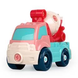 Сборка детская моделирование мультфильм мульти-функциональный инерционная монтируемая Автомобильная модель развивающие игрушки Лидер