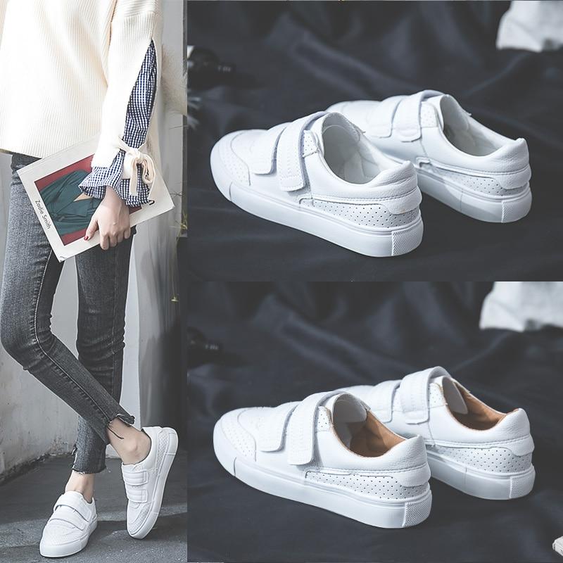 2019 New Women Shoes Small White Shoes Flat Casual Sneakers Women Brand Zapatos Mujer Tenis Feminino Couple Feminina