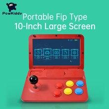POWKIDDY A13 10 дюймов игровой джойстик с двумя джойстиками аркадная A7 архитектура Quad-Core Процессор симулятор видео Игровая приставка новая игра д...