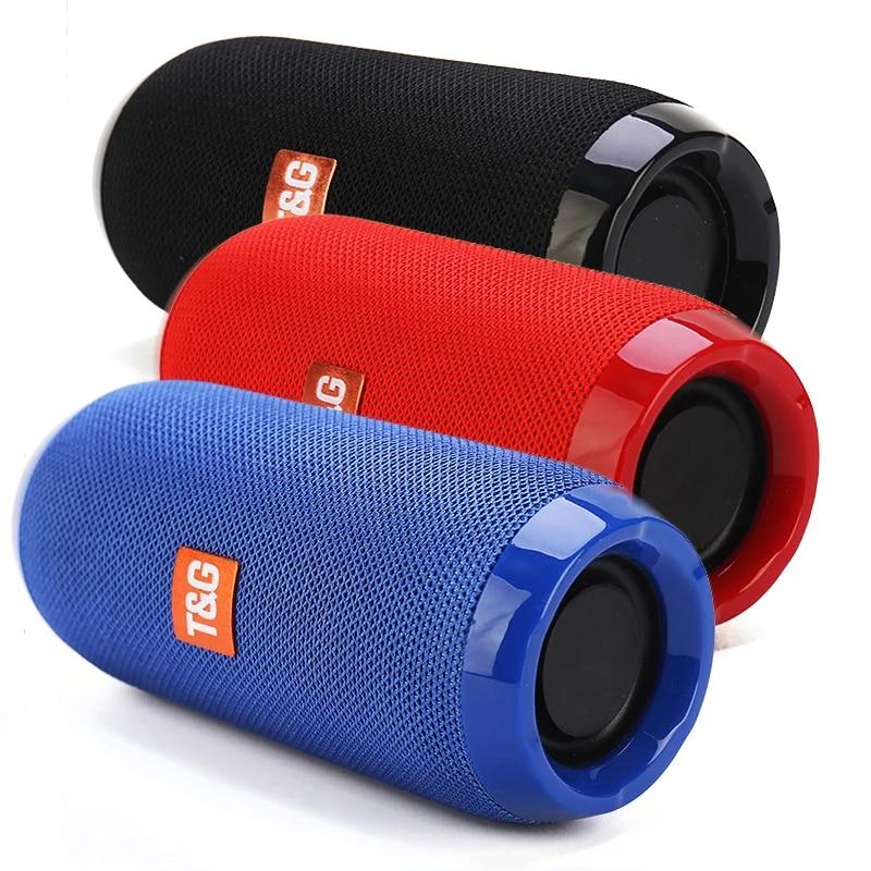 Portable Speaker Wireless  Bluetooth-compatible Subwoofer Outdoor Waterproof Loudspeaker Stereo Surround Support FM RadioTF