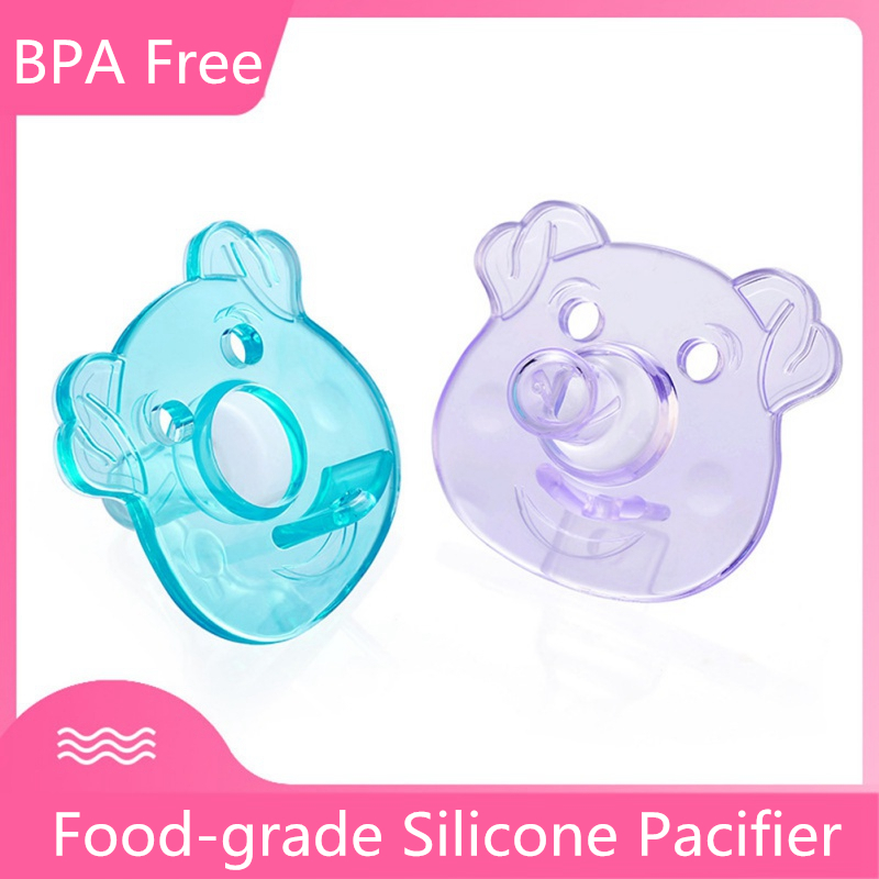 Pacifier Newborn Kids Baby Boys Girl Dummy Nipples Food-grade Silicone Pacifier Orthodontic Soother Nipple Sleep Soother