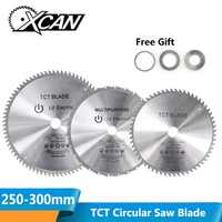 XCAN 1pc Diameter 250-300mm 28/40/60/80T Wood Circular Saw Blade Mulitpurpose TCT Carbide Tipped Saw Blade