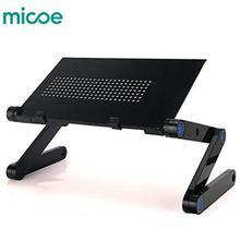 Micoe basamento del Computer Portatile pieghevole tavolo portatile pieghevole in lega di alluminio regolabile con supporto per mouse