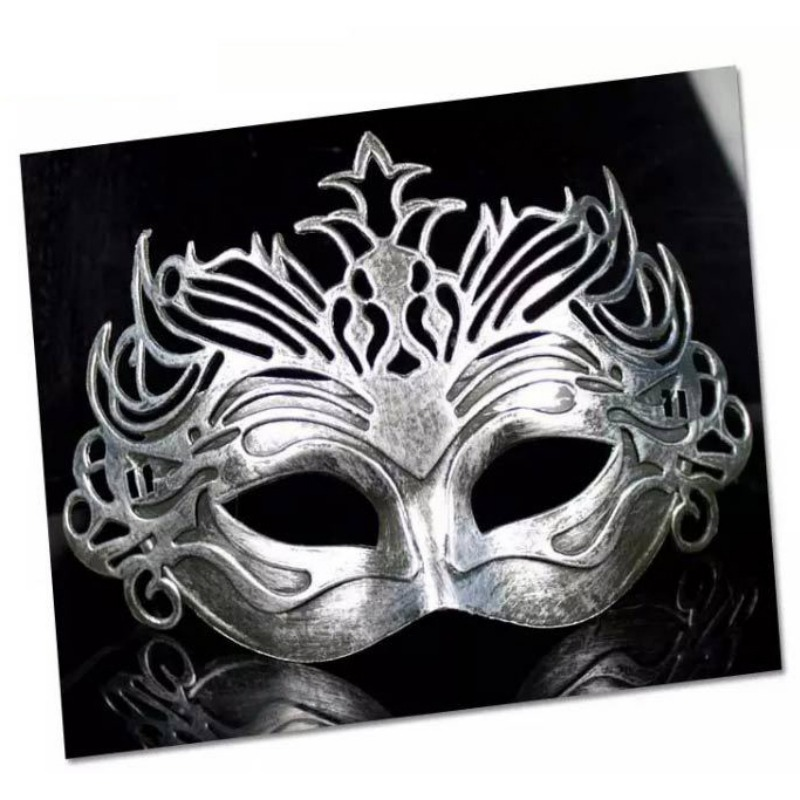 Vintage fête masque vénitien mascarade demi visage masques Halloween carnaval Cosplay Costume