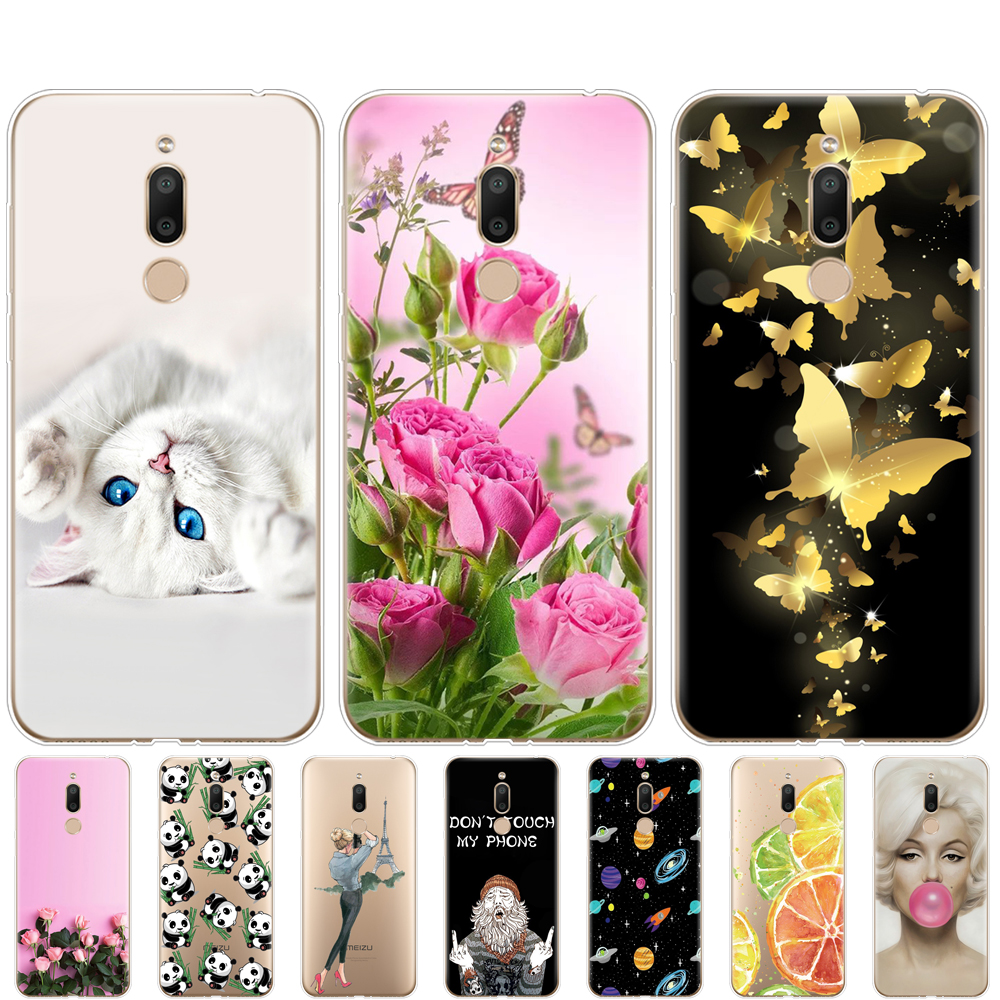 case For <font><b>Meizu</b></font> <font><b>M6T</b></font> Case cover Silicon Soft coque fundas For <font><b>Meizu</b></font> <font><b>M6T</b></font> Cover M6 T M 6T <font><b>M811H</b></font> Phone Shells Bags image