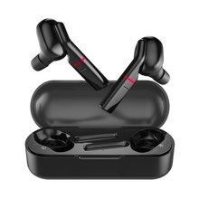 цена Bluetooth 5.0 Wireless Earphone TWS Binaural Sports Headset 3D Stereo Sound With Mic Handsfree Sports Earphone With Charging Box онлайн в 2017 году