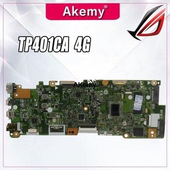 TP401CA motherboard For Asus VivoBook Flip 14 TP401C TP401CA laptop motherboard I5-7Y54 CPU 4GB RAM 128G SSD