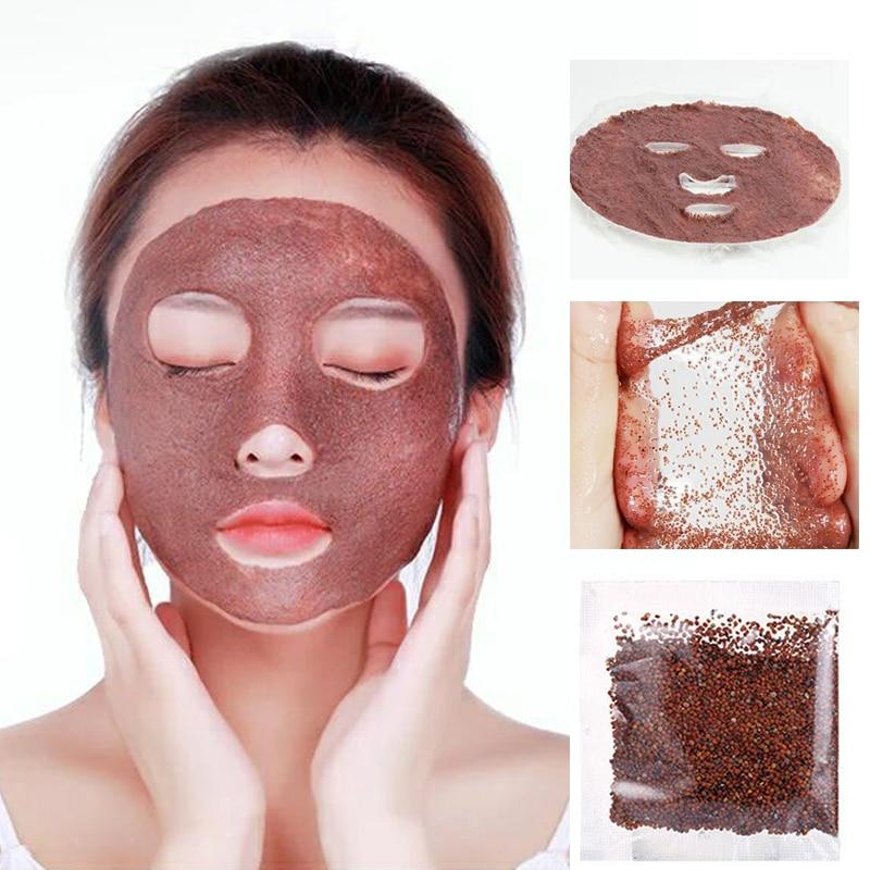 5/6/8/10PCS Natural Seaweed DIY Face Mask Deep Moisturizing Hydrating Shrink Pores Oil Control Repair Masks For Face Skin Care