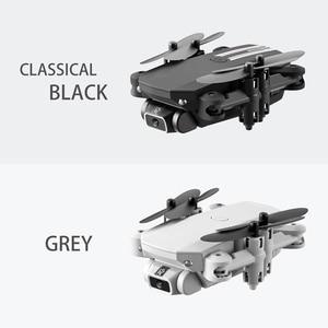 Image 3 - XKJ 2020 New Mini Drone 4K 1080P HD Camera WiFi Fpv Air Pressure Altitude Hold Black And Gray Foldable Quadcopter RC Dron Toy