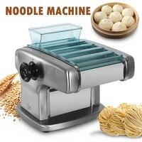 Electric Pasta Maker Machine Noodles Cutting 4 Blade Thickness Roller Dough Ravioli Dumpling Skin Kitchen Wheat Flour Food