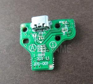 Image 5 - 10 pces jds030 jds001 jds011 jds040 jds055 para playstation 4 controlador usb placa de carregamento porto substituição para ps4 controlador