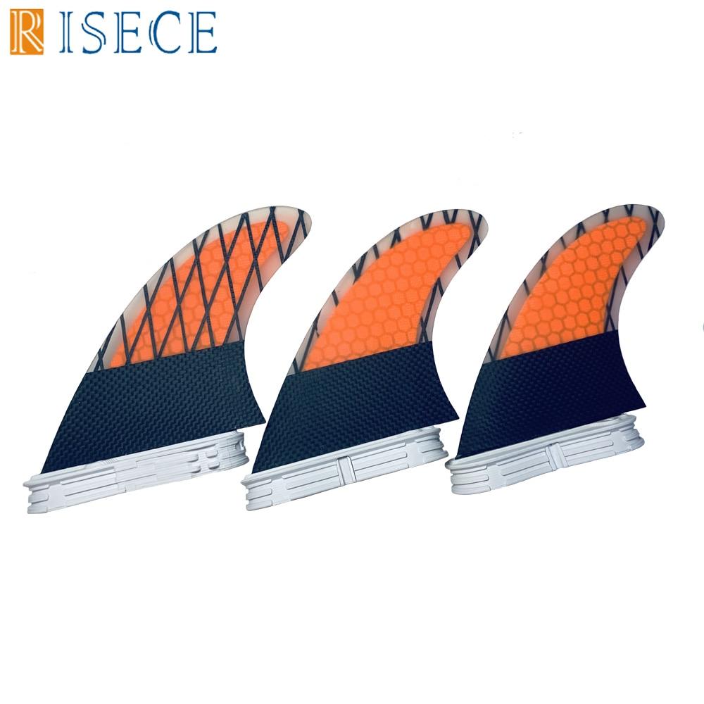 FCS 2 ailettes G5 palmes de planche de surf en fibre de carbone avec fiches fcs2 ailettes fcsii accessoires de surf