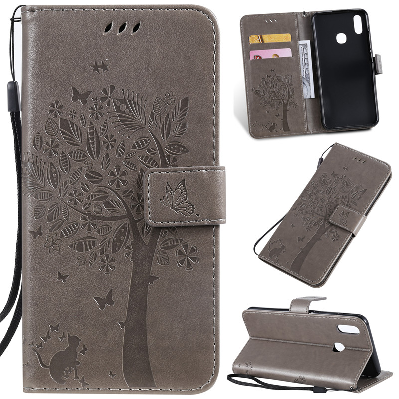 For Vivo Y95 Case Flip PU Leather Case Cover For Vivo Y95 Case Cell Phone With Card Holder Stand