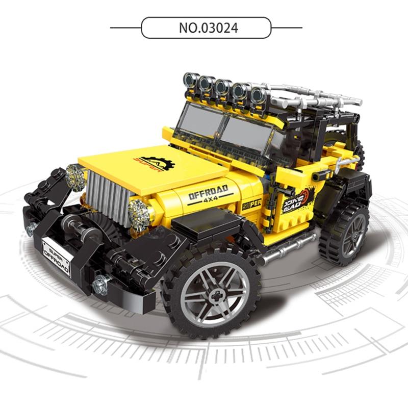 XingBao-03024-03025-03026-03027-TECHNIC-Car-Series-Off-Road-Adventure-Truck-Set-Building-Blocks-DIY (1)